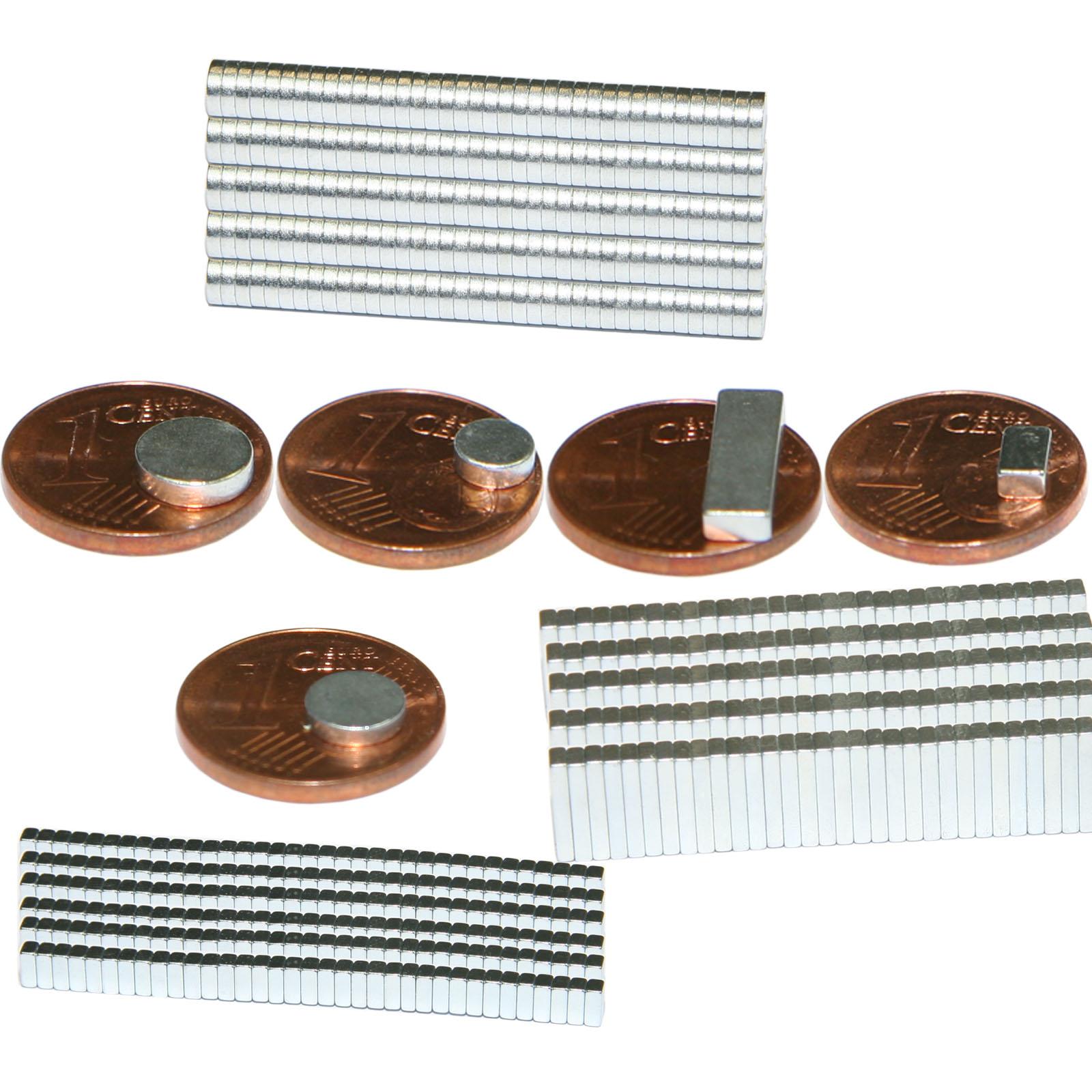 starke neodym magnete magnet minimagnete scheibe 5x2 mm ebay. Black Bedroom Furniture Sets. Home Design Ideas